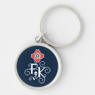 Frida Kahlo | Floral Tribute Keychain