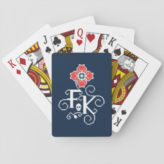 Frida Kahlo | Floral Tribute Playing Cards