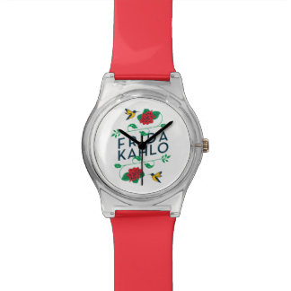 Frida Kahlo | Floral Typography Watch