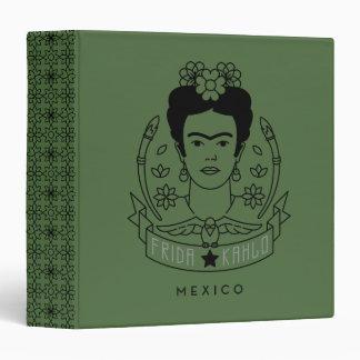 Frida Kahlo | Heroína Vinyl Binders