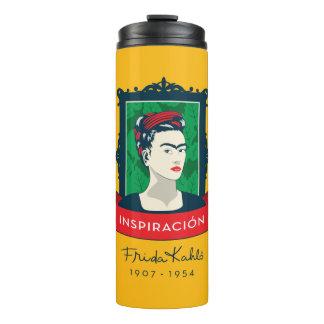 Frida Kahlo   Inspiración Thermal Tumbler