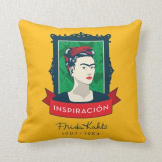 Frida Kahlo | Inspiración Throw Pillow