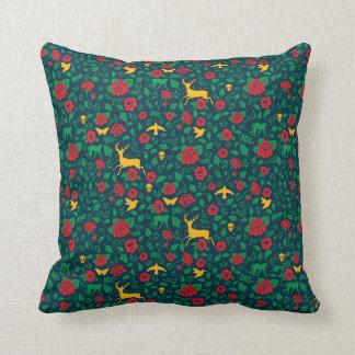 Frida Kahlo | Life Symbols Throw Pillow