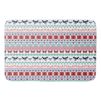Frida Kahlo | Mexican Pattern Bathroom Mat