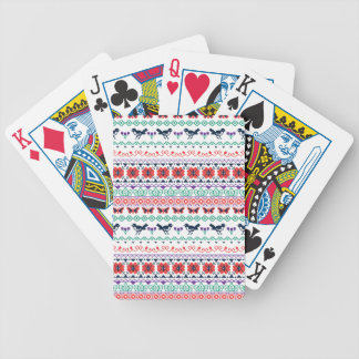 Frida Kahlo | Mexican Pattern Bicycle Playing Cards