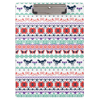 Frida Kahlo | Mexican Pattern Clipboard