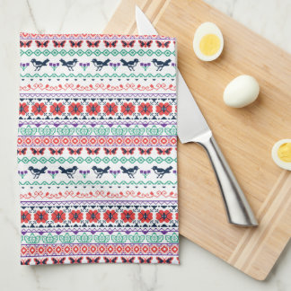 Frida Kahlo | Mexican Pattern Kitchen Towel