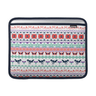 Frida Kahlo | Mexican Pattern MacBook Sleeves