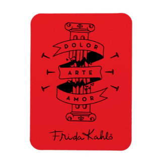 Frida Kahlo   Pain Art Love Magnet