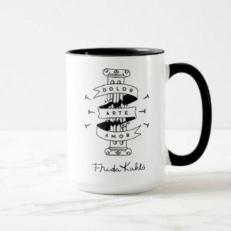 Frida Kahlo   Pain Art Love Mug