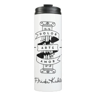 Frida Kahlo | Pain Art Love Thermal Tumbler
