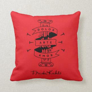 Frida Kahlo | Pain Art Love Throw Pillow