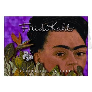 Frida Kahlo Pasion Por La Vida Card