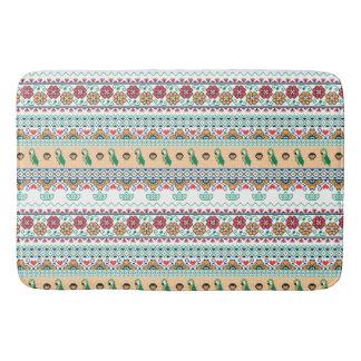 Frida Kahlo | Patrón de Colores Bathroom Mat