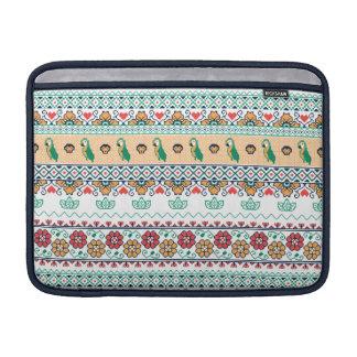 Frida Kahlo | Patrón de Colores MacBook Air Sleeves