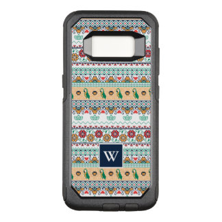 Frida Kahlo | Patrón de Colores OtterBox Commuter Samsung Galaxy S8 Case
