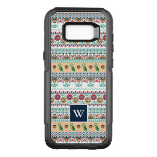 Frida Kahlo | Patrón de Colores OtterBox Commuter Samsung Galaxy S8+ Case