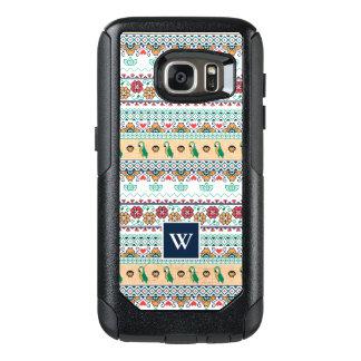 Frida Kahlo | Patrón de Colores OtterBox Samsung Galaxy S7 Case