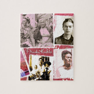 Frida Kahlo Photo Montage Jigsaw Puzzle