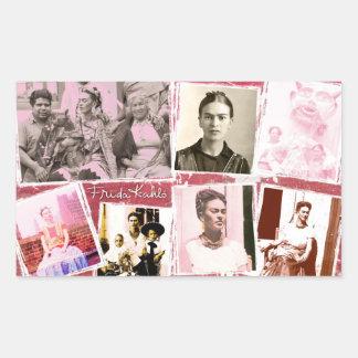 Frida Kahlo Photo Montage Sticker