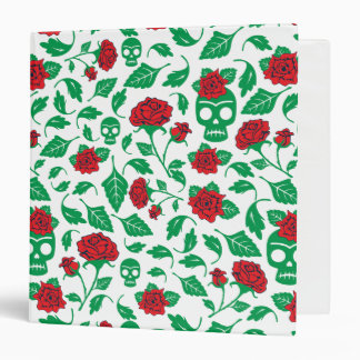 Frida Kahlo | Skulls & Roses 3 Ring Binder