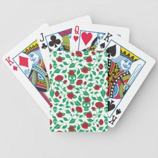 Frida Kahlo | Skulls & Roses Bicycle Playing Cards