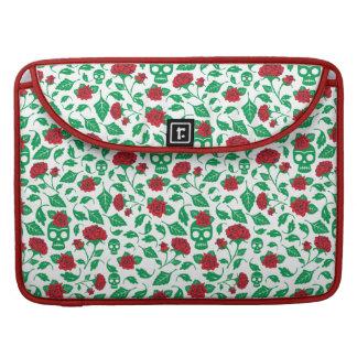 Frida Kahlo   Skulls & Roses Sleeves For MacBook Pro