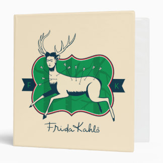 Frida Kahlo | The Wounded Deer 3 Ring Binder