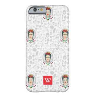 Frida Kahlo | Vintage Floral Barely There iPhone 6 Case