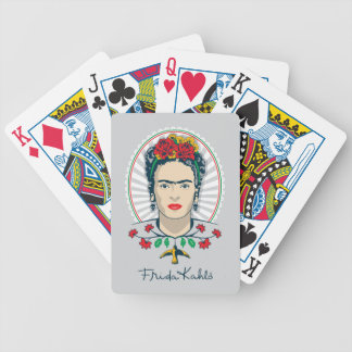 Frida Kahlo | Vintage Floral Bicycle Playing Cards