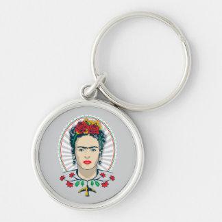 Frida Kahlo | Vintage Floral Keychain