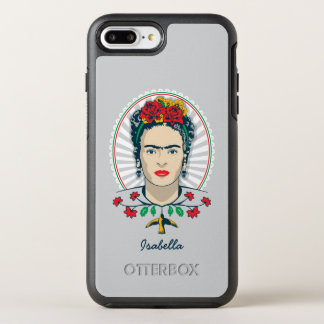 Frida Kahlo | Vintage Floral OtterBox Symmetry iPhone 8 Plus/7 Plus Case