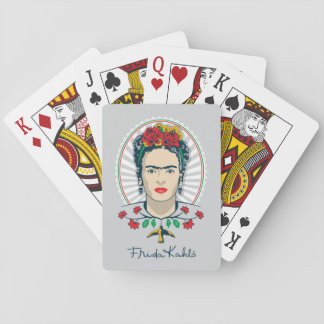 Frida Kahlo | Vintage Floral Playing Cards