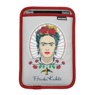 Frida Kahlo | Vintage Floral Sleeve For iPad Mini