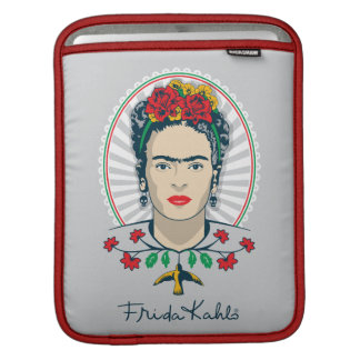 Frida Kahlo | Vintage Floral Sleeves For iPads