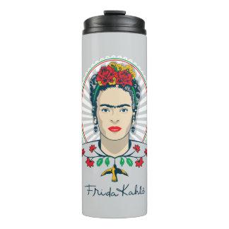 Frida Kahlo | Vintage Floral Thermal Tumbler