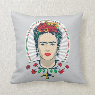 Frida Kahlo | Vintage Floral Throw Pillow