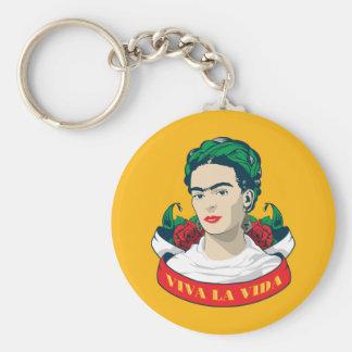 Frida Kahlo | Viva la Vida Keychain