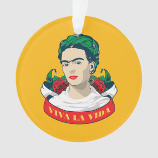 Frida Kahlo | Viva la Vida Ornament