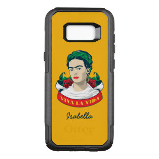 Frida Kahlo | Viva la Vida OtterBox Commuter Samsung Galaxy S8+ Case