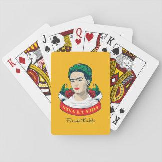 Frida Kahlo | Viva la Vida Playing Cards