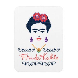 Frida Kahlo   Viva Mexico Magnet