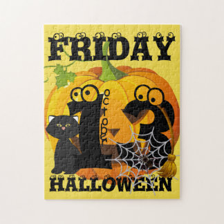 Friday 13th  Halloween Jigsaw Puzzle