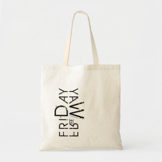 Friday Bag. Days of the Week Tote Bag