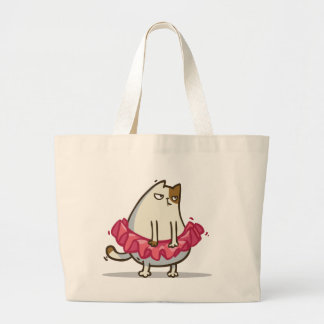 Friday Cat №1 Large Tote Bag