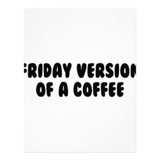 Friday Coffee Letterhead