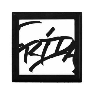Friday graffiti tag gift box
