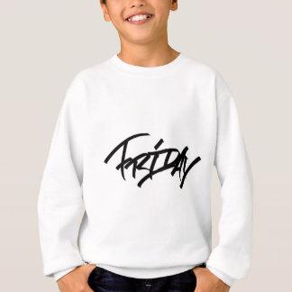 Friday graffiti tag sweatshirt
