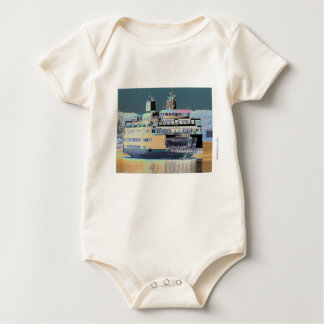 friday harbor ferry San juan island    ferry land Baby Bodysuit