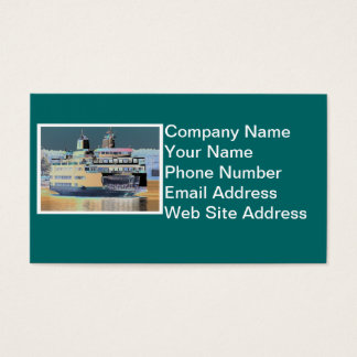 friday harbor ferry San juan island  | ferry land Business Card